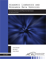 Academic Libraries and Research Data services Report