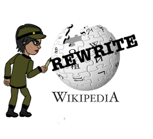 Postcolonial Digital Humanities, Rewrite Wikipedia