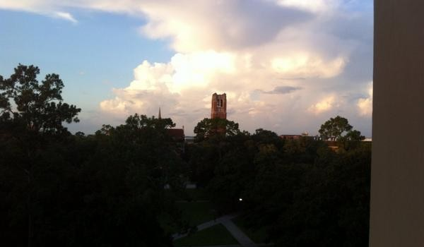Blog: Morning at UF, still looks calm with so much great…