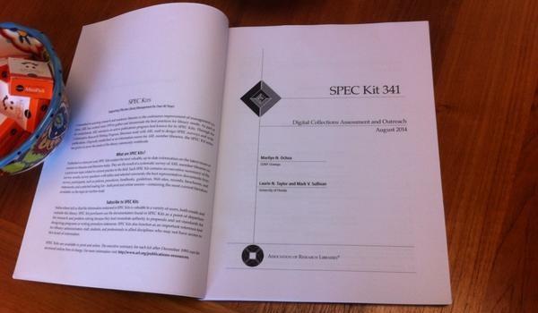 Blog: Copy of ARL SPEC Kit by Marilyn Ochoa, Mark Sulliv…