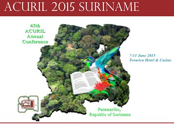 ACURIL 2015 in Suriname