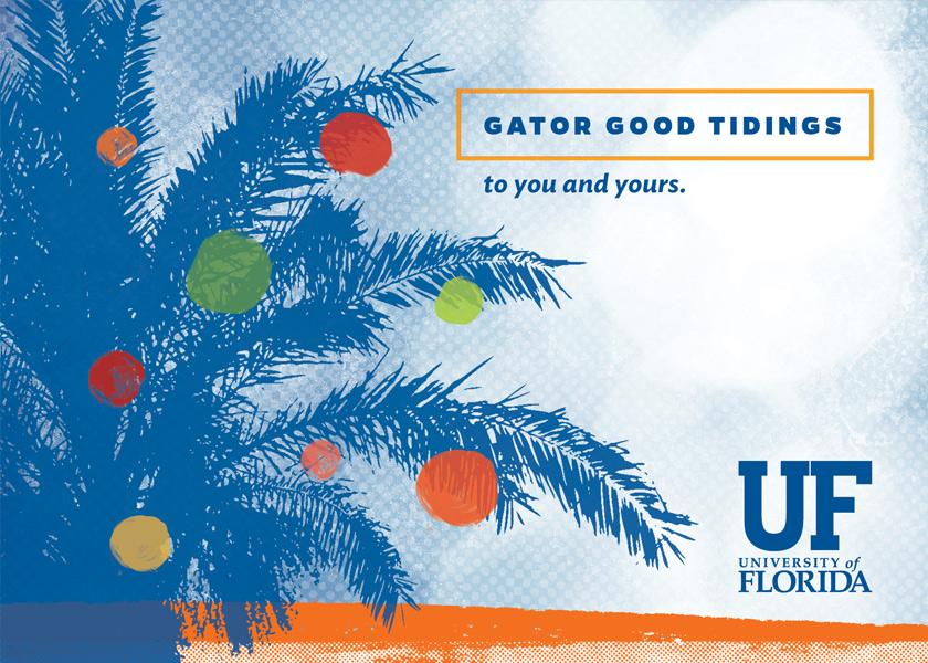 UF Gator Good Holiday Card