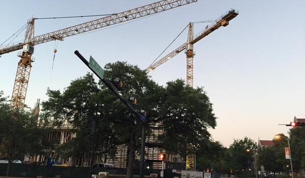 Blog: Cranes in motion for new UF Chemistry bldg. very c…