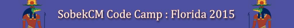 SobekCM Florida Code Camp 2015